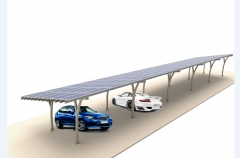 Broad Carbon Steel Carport System